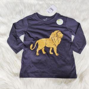 🌿 3/$20 brand new lion long sleeve tee